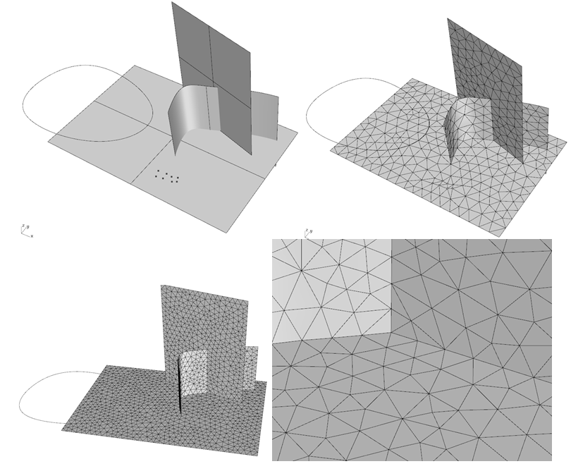 millipede: non manifold discretization