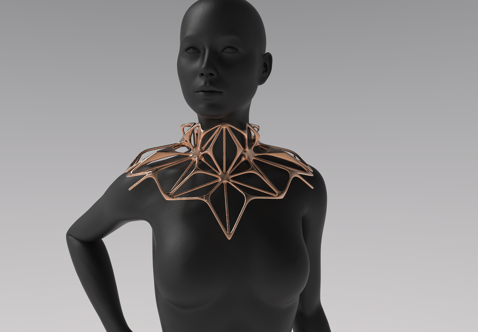 Wearable Architecture WIP by Zimarty