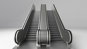 Parametric Escalators and Moving Walkways