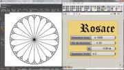 rosette stained glass window - 01/02