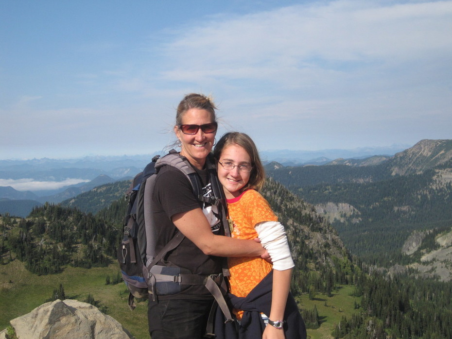 Kelly and Emily - Mt. Ranier N.P. (9/2011)