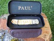 PAUL Axial lock Knives