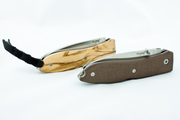 LionSteel Opera (olive wood and brown G10)