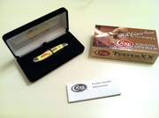 """2012 CASE XX Peanut Yellow Delrin """"Case"""" Logo #227 of 500 Limited Pocket Knife"""
