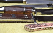 Crawford Bowie 1976 #2 and Filet #1 1980 side view detail