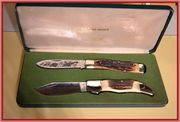1979 Taylor Cutlery Clasp and Large Gunstock set