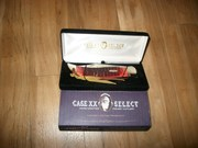 Case XX Select Bulldog 6172 SS Tested Red Bone Clasp