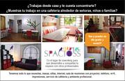"""Spacioss coworking """"1er espacio colaborativo para la mujer"""""""