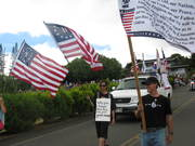 Kona, Hawaii July 4th Tea Party