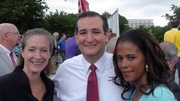 Lisa Miller, Senator Ted Cruz & Sonnie Johnson