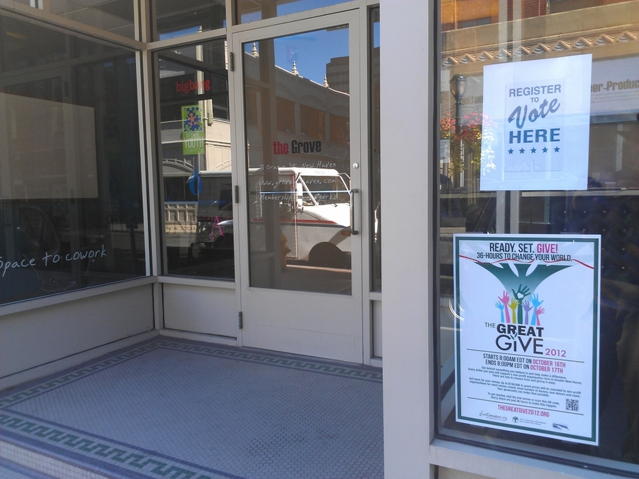 The Grove, a new kind of social space, supports The Great Give 2012