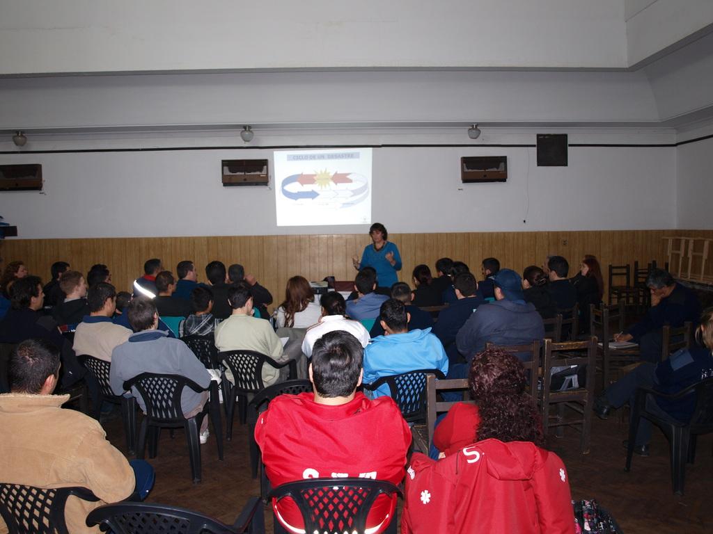 Jornada de 1ros Aux Emocionales en B.V.La Boca (lic Alicia Galfaso