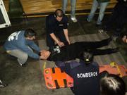 Curso PHTLS y Rescate Vehicular, practicas día sábado, Gral Roca, Rio Negro, ARGENTINA