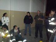 Curso PHTLS y Rescate Vehicular, ejercicio nocturno, Gral Roca, Rio Negro, ARGENTINA