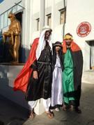 Bomberos de General Roca con los Reyes