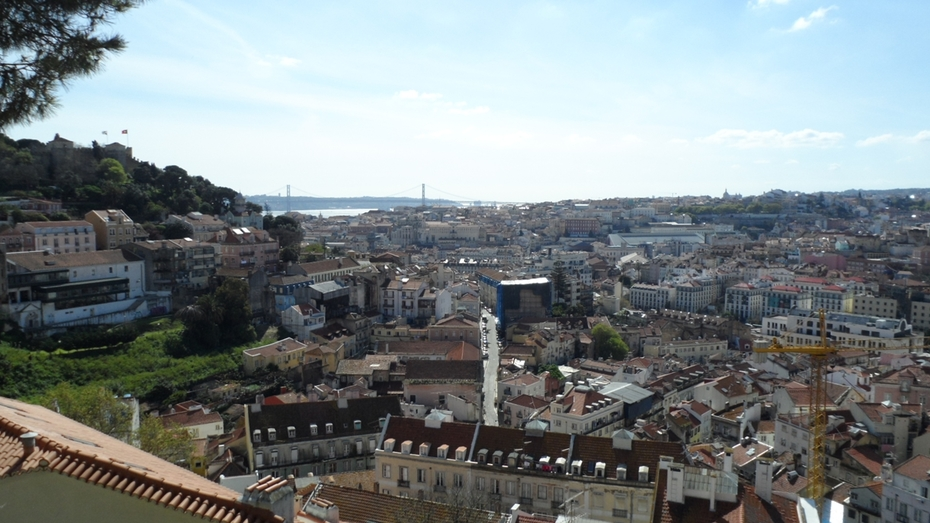 View of Lisbon Downtown
