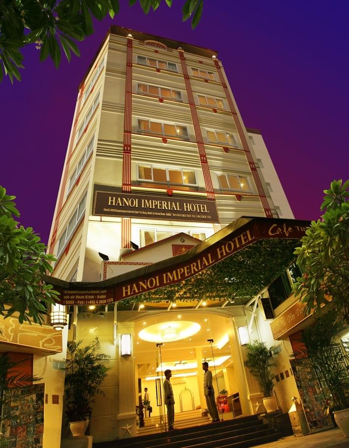 Hanoi Imperial Hotel Building