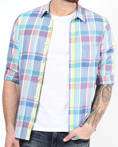 Brighton Check Flannel Shirts