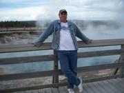 Gary at Yellowstone