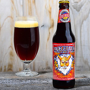 Troegenator Double Bock is a Doppelbock style beer brewed by Tröegs Brewing Company.