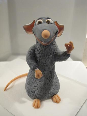 Mouse Ratatouille cake