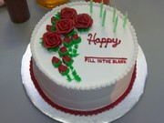 """Happy """"fill-in-the-blank"""" Cake"""