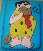 Fred Flintstone Cake