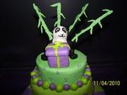Shelbys 17th birthday cake 004