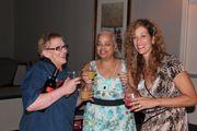 Julie Bashore, Genevieve Poitevien & me