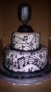Music Note Cake
