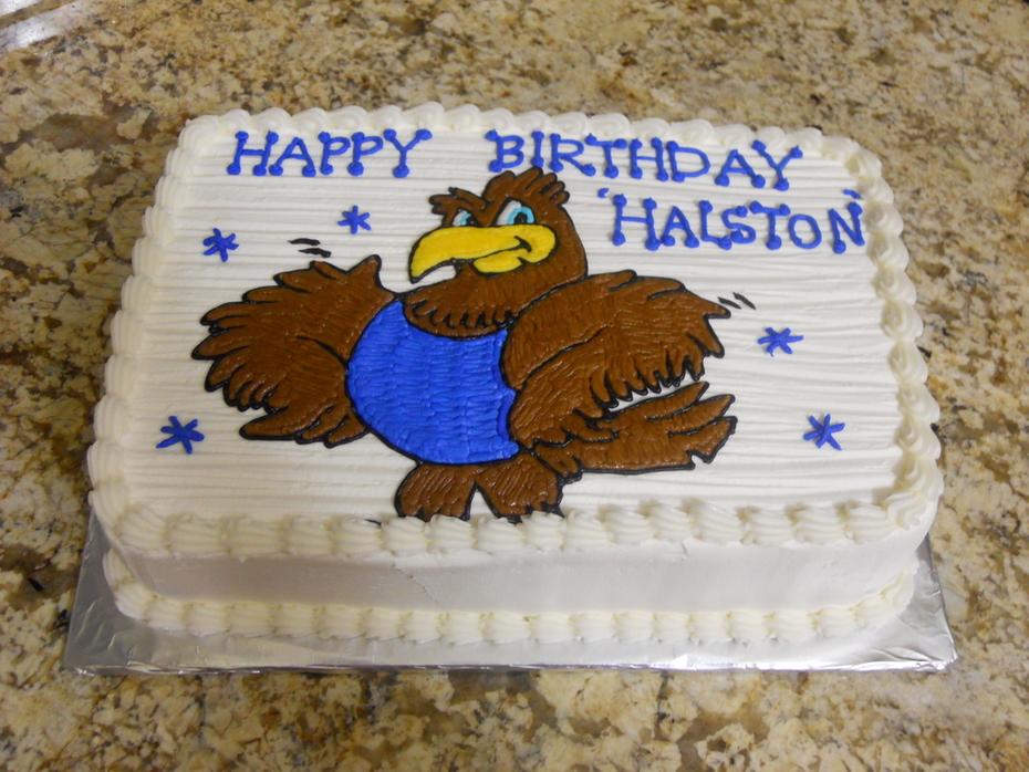 Quarter Sheet - Eagle cake