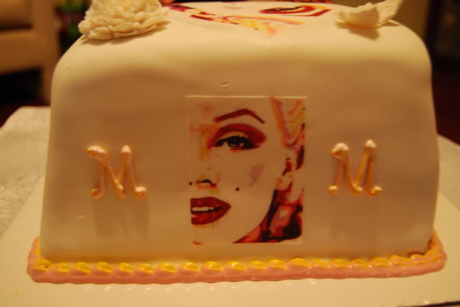 Super Marilyn Monroe Cake Decorating Community Cakes We Bake Personalised Birthday Cards Paralily Jamesorg