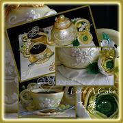 Tea 'n Bloom Cake