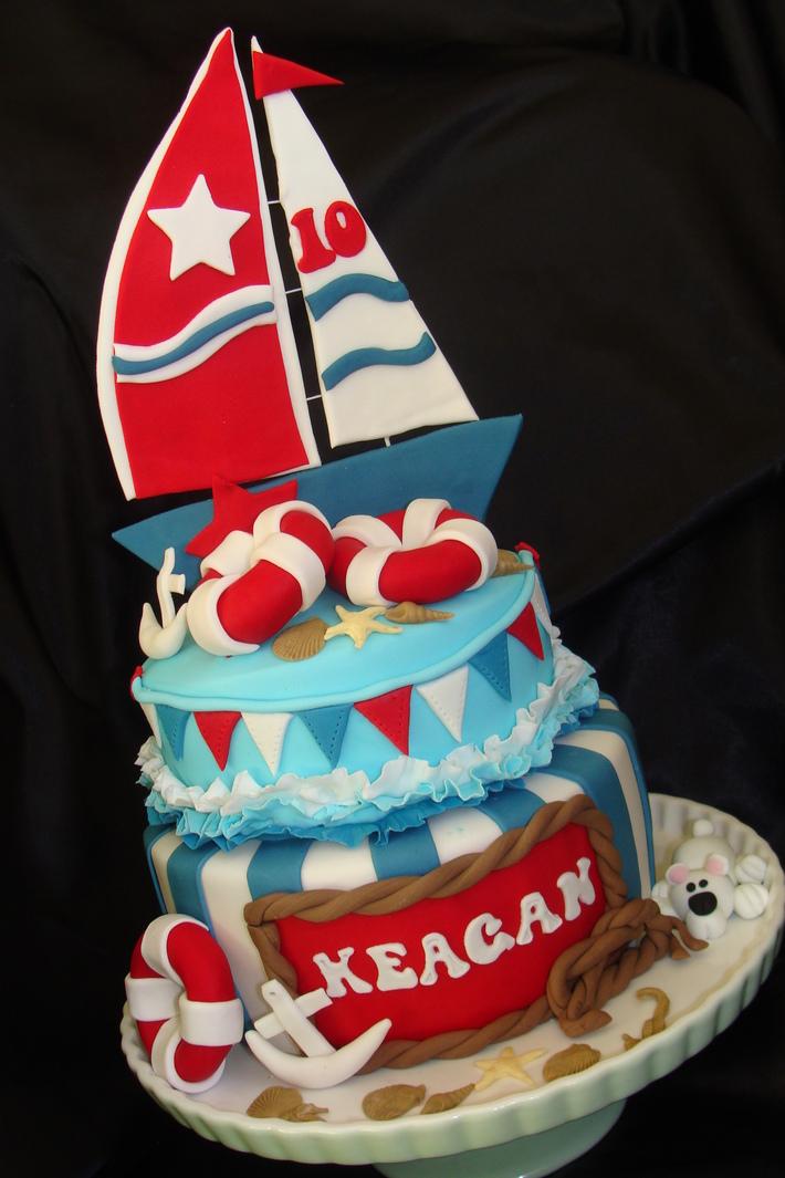 Fantastic Nautical Themed Cake Cake Decorating Community Cakes We Bake Funny Birthday Cards Online Inifofree Goldxyz