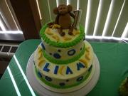 Baby's First Monkey Birthday