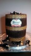 Vintage Shiner Beer Keg 1