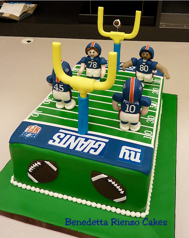 Remarkable Ny Giants Football Field Cake Cake Decorating Community Cakes Funny Birthday Cards Online Inifodamsfinfo