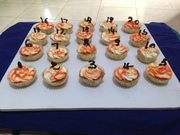 number cup cake