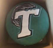 Tulane Universtiy Logo Cake