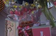 Owl cake pops for Owl Theme Baby Shower