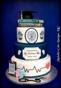 Graduation Cake Nurse