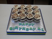Mudslide Cupcakes for Adult Male Birthday