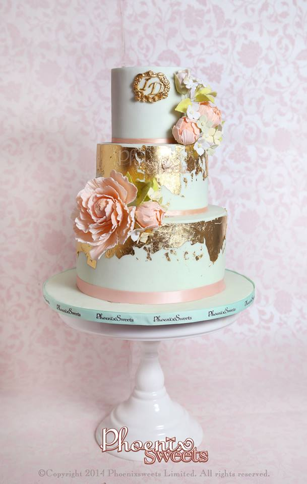 Phoenix Sweets - Two Tiers Wedding Cake