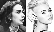 Miley Cyrus Hillary Clinton - Mother Daugther [2]