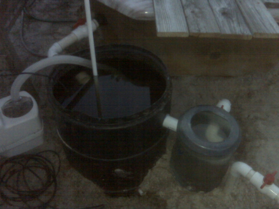 Sump and Swirl filter