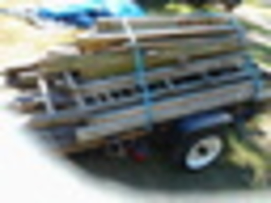 donated lumber
