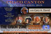 Chaco Canyon Summer Solstice into the Orion Zone June 17th-23rd, 2019