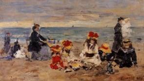 Eugène Boudin ou le charme désuet des plages d'antan