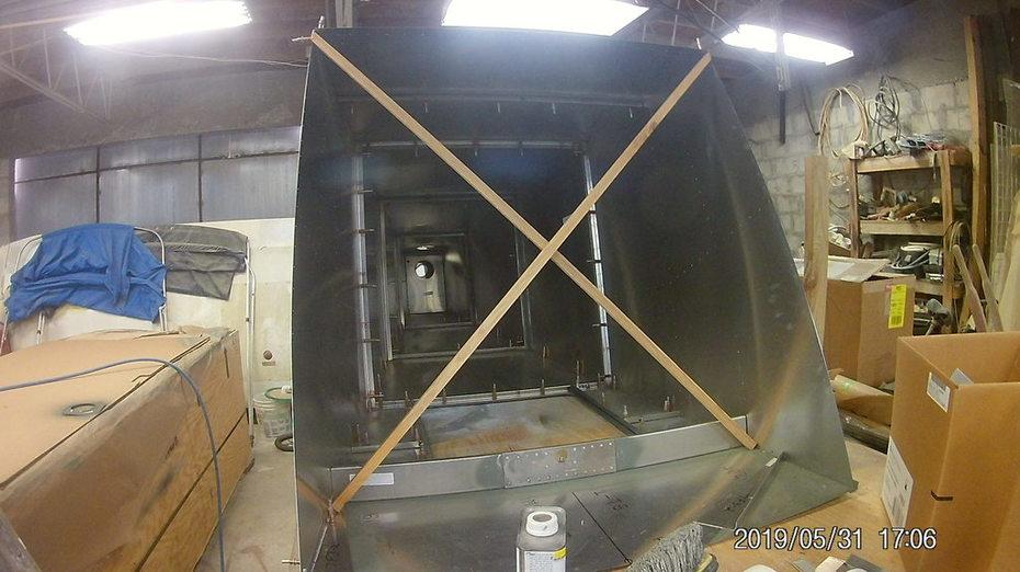 rear fuselage 701