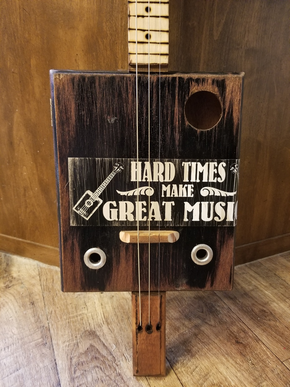 My First Cigar Box Guitar